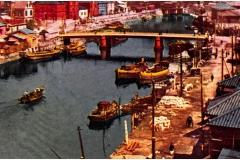 派大岡川の風景吉浜橋_light
