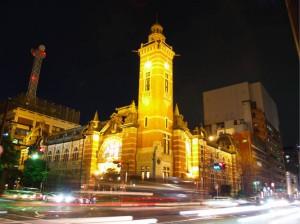 開港記念会館夜景