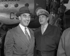 Douglas MacArthur and William H. Draper