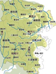 【番外編】(ざくっと横浜その1)村は川に沿って生まれる