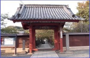 No.282 10月8日 (月)幕府東玄関を支えた寺