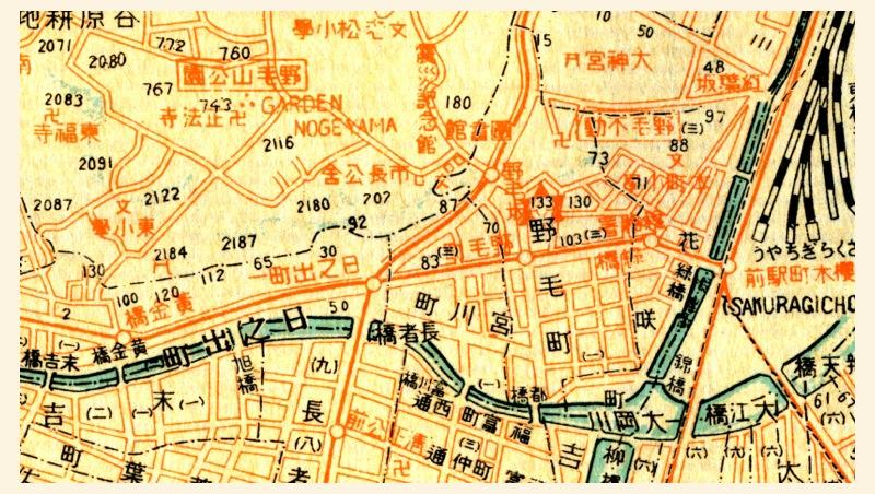 昭和初期 市電が走り京急はまだの頃