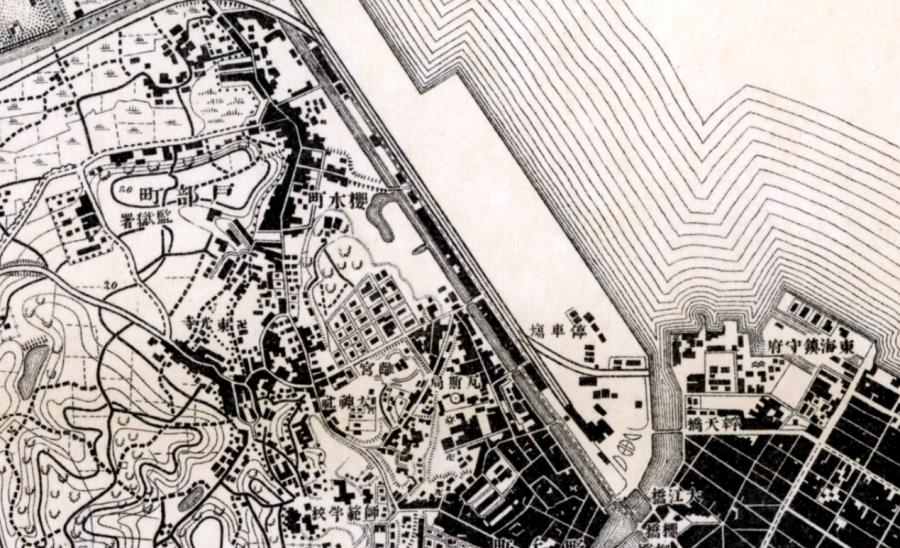 【横浜の橋】№10 残った紅葉橋(陸橋)
