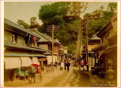 【横浜の風景】元町百段坂を数えてみた!part2